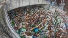 Започна разчистването на плаващото сметище край Своге