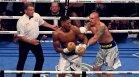 Джошуа след поражението: Нищо не виждах с едното око от 9-ия рунд