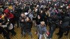 Масов протест на ресторантьорите и детските центрове пред МС