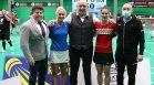 Министър Кралев уважи Държавното първенство по бадминтон