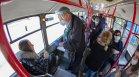 Над 14 хил. души са хванати без билет в транспорта в София, десетки не носят маски