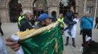 """Протестиращи зоват за отмяна на """"зелените сертификати"""", смятат, че са дискриминационни"""