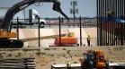 Спират всички строителни дейности по граничните стени между САЩ и Мексико