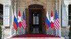 Женева спешно купува руски и американски знамена преди срещата Путин-Байдън