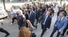 """Протестиращи """"изпратиха"""" Тошко Йорданов и Пламен Николов до НС"""