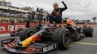 Верстапен спечели ГП на Франция след драматична битка с Хамилтън