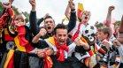 Германия падна, но духът на футбола отново се усеща по улиците на страната