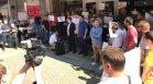 Протест пред централата на БСП: Част от структурите на партията искат оставка на Нинова