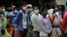 Индия с мрачен рекорд: Жертвите на Ковид-19 за денонощието са 4329
