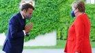 Меркел и Макрон: Русия е голямото предизвикателство за ЕС, Турция да внимава
