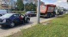 По чудо без жертви: ТИР, цистерна и лека кола катастрофираха в София