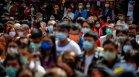 СЗО: 4,5 млн. заразени само за седмица, смъртността скача със 7%