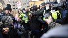 Шведската полиция разпръсна протест на противници на Ковид ограниченията