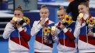 Историческо злато: Рускините спечелиха титлата в спортната гимнастика