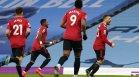 """Блестящ """"Юнайтед"""" сложи край на уникалната серия на """"Сити"""""""