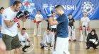 Последна тренировка от семинара в София за KWU International Professional league