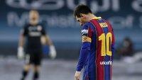 Обявиха наказанието на Лео Меси след първия му червен картон