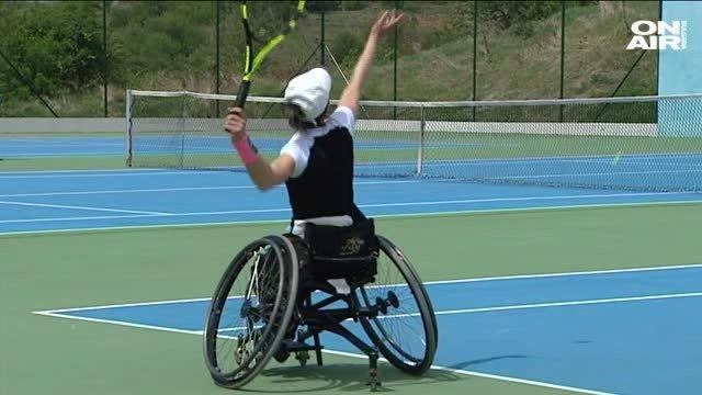 b30382c4296 Тенис в инвалидна количка - Bgonair